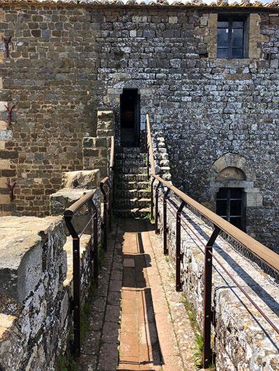 城塞の通路