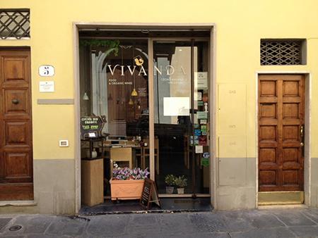 フィレンツェのビオレストランVivanda