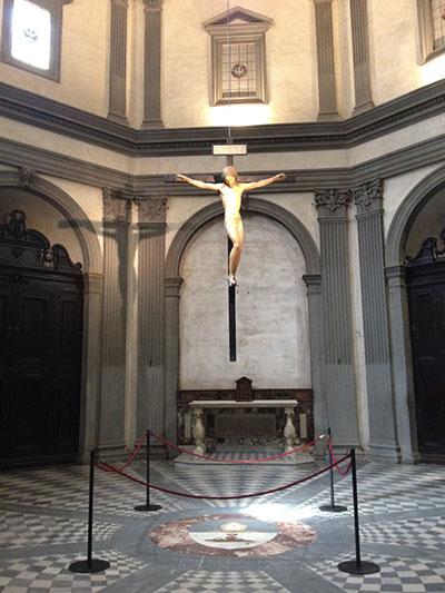 ミケランジェロの磔刑木像