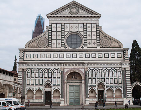 復活祭とサンタ・マリア・ノヴェッラ聖堂