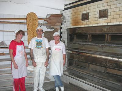ルイージのパン屋
