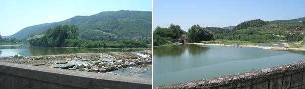 アルノ川の源流