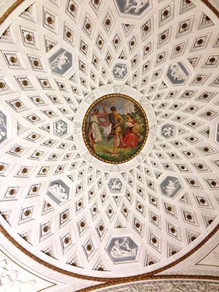 18世紀天井装飾