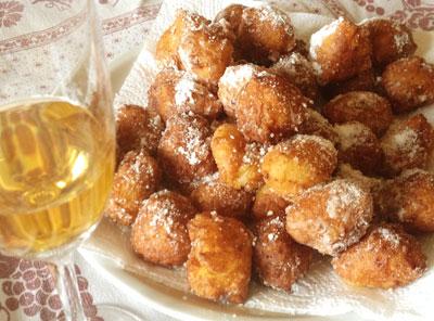 イタリアの乳の日のお菓子