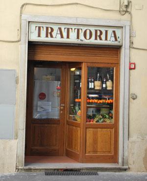 フィレンツェのトラットリア・デル・カルミネ
