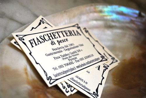 フィレンツェで魚介パスタ