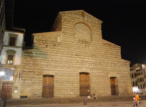 サンロレンツォ教会ファザード