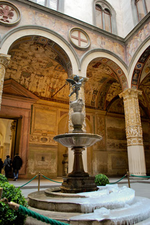 ヴェッキオ宮殿噴水
