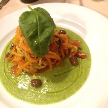 野菜のパスタ