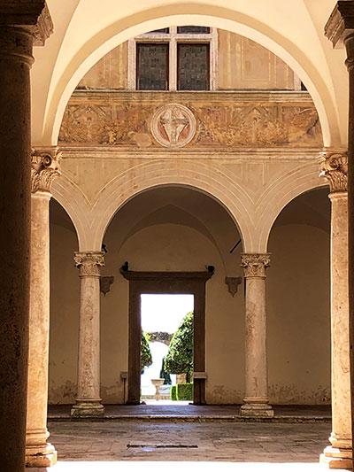 ピエンツァのピッコローミニ宮