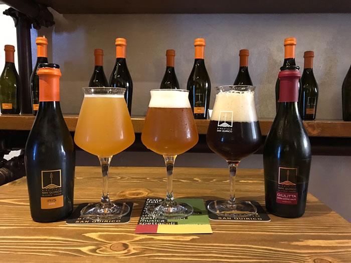 サン・クイリコ・ドルチャの地ビール