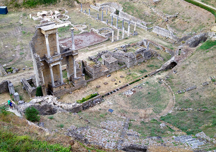 ヴォルテッラ古代劇場跡