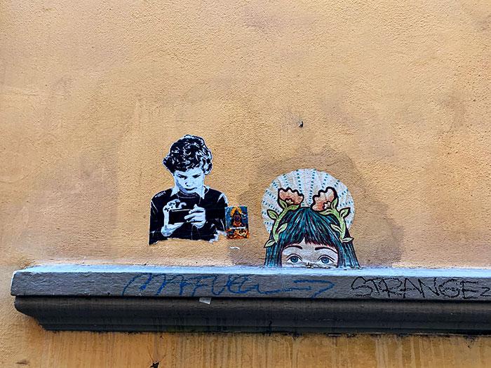 フィレンツェの裏通り