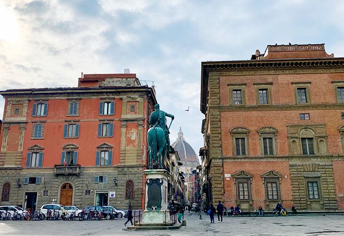 フィレンツェの広場