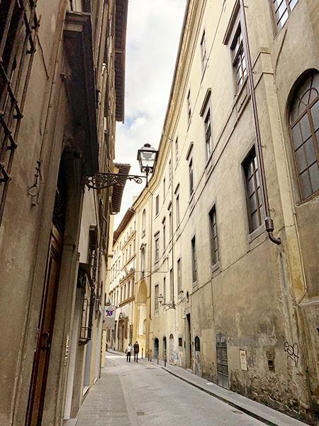 フィレンツェの街角