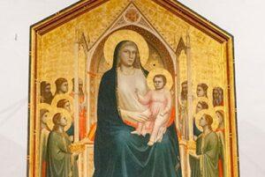 ジョットの荘厳の聖母ウッフィツィ美術館所蔵
