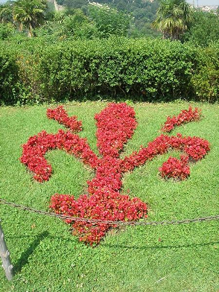 フィレンツェ花壇