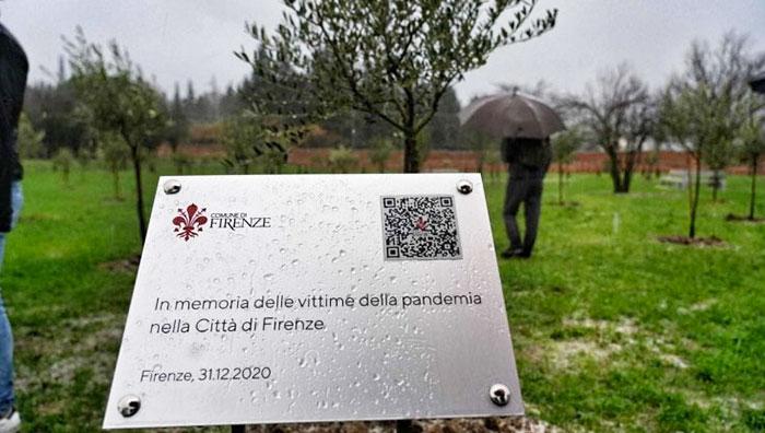 フィレンツェの記憶の森