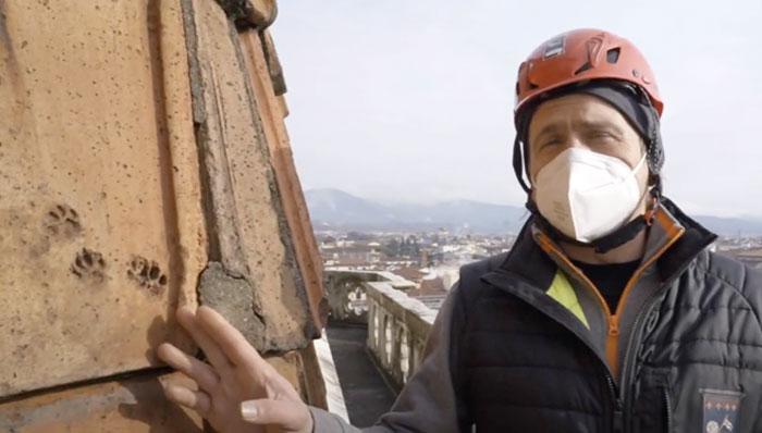 フィレンツェのクーポラ点検