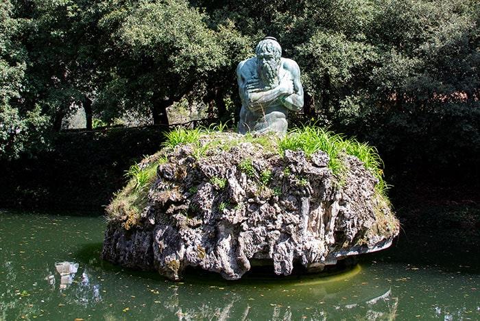 メディチ家別荘カステッロ「アペニン山脈または1月」