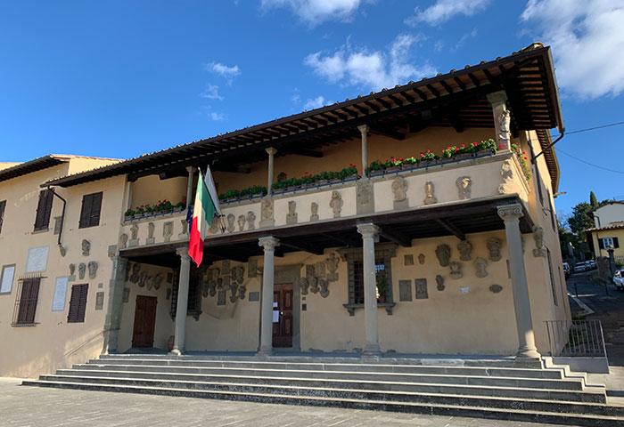 フィエーゾレ市庁舎