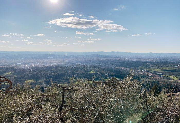 フィレンツェを眺メル
