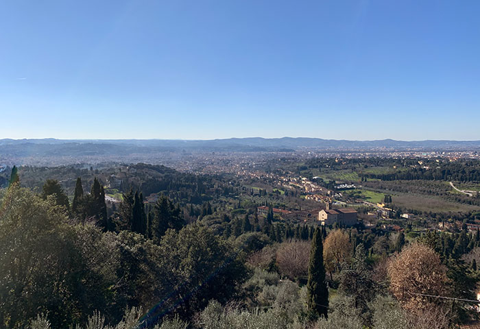フィエーゾレからフィレンツェ