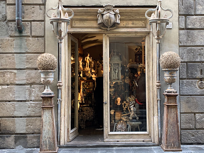フィレンツェのお店