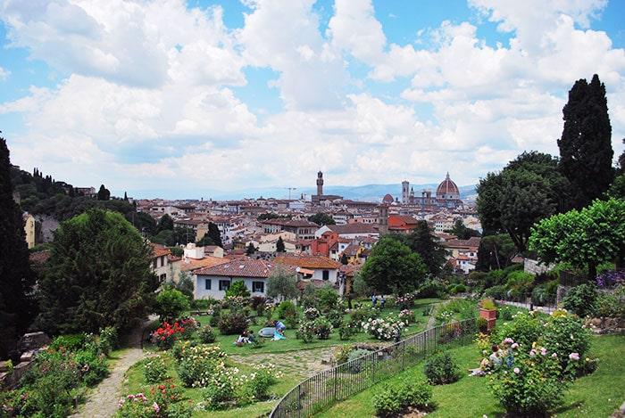 フィレンツェの薔薇園