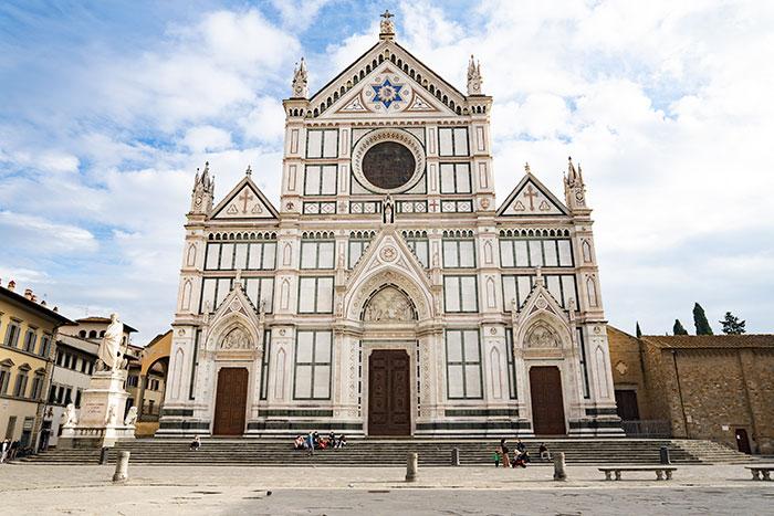 サンタ・クローチェ教会・フィレンツェの教会