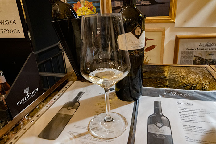 イタリア白ワイン・ピノビアンコ