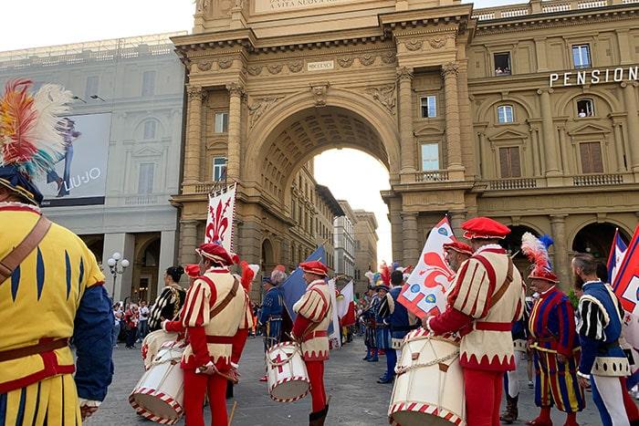 フィレンツェの伝統行事