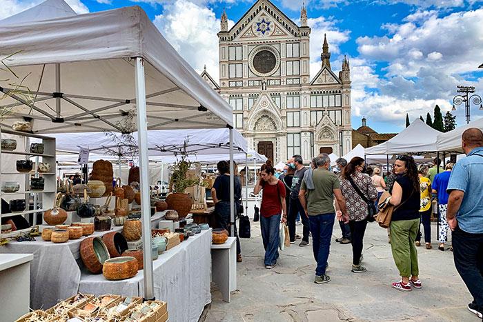 フィレンツェの陶器市